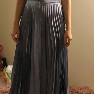 Blue Pleated Skirt 💎💎💎